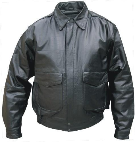 Childrens Bomber-style Leather Jacket, AL2810
