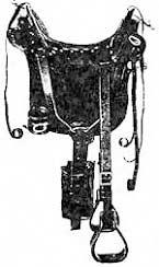 History of western horse saddles - saddlezone com - a